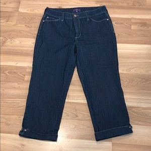 NYDJ not your daughter's jean capris size 8